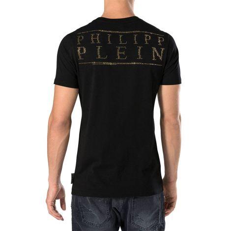 Philipp Plein Tişört Ghost Siyah #PhilippPlein #Tişört #PhilippPleinTişört #Erkek #PhilippPleinGhost #Ghost