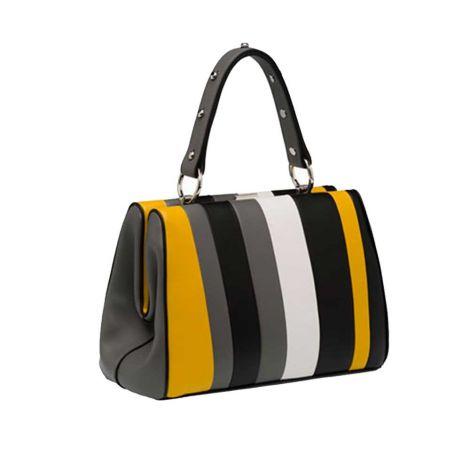 Prada Çanta Frame Bag Sarı #Prada #Çanta #PradaÇanta #Kadın #PradaFrame Bag #Frame Bag