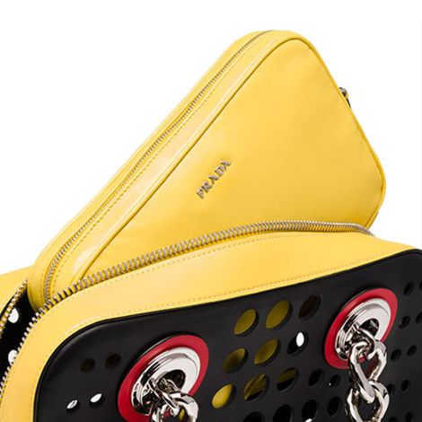 Prada Çanta Top Handle Bag Sarı #Prada #Çanta #PradaÇanta #Kadın #PradaTop Handle Bag #Top Handle Bag
