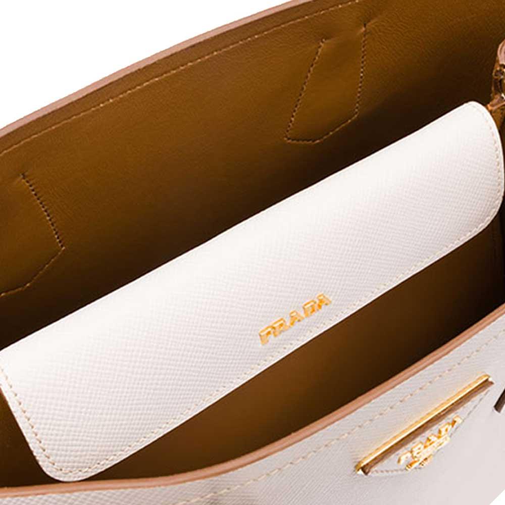 Prada Double Bag Çanta Beyaz - 5 #Prada #PradaDoubleBag #Çanta - 4