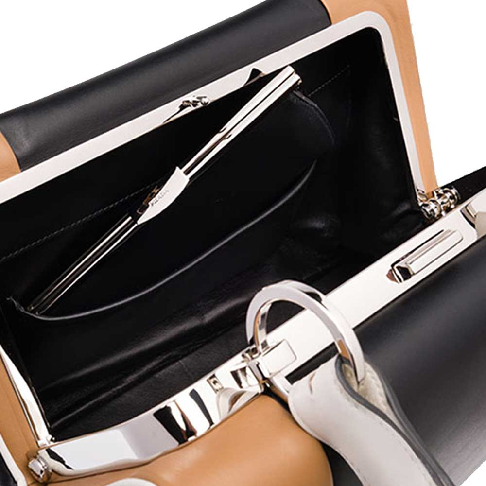 Prada Frame Bag Çanta Siyah - 8 #Prada #PradaFrameBag #Çanta - 4