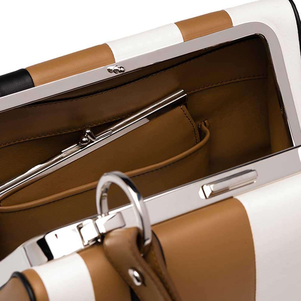 Prada Frame Bag Çanta Kahverengi - 6 #Prada #PradaFrameBag #Çanta - 4