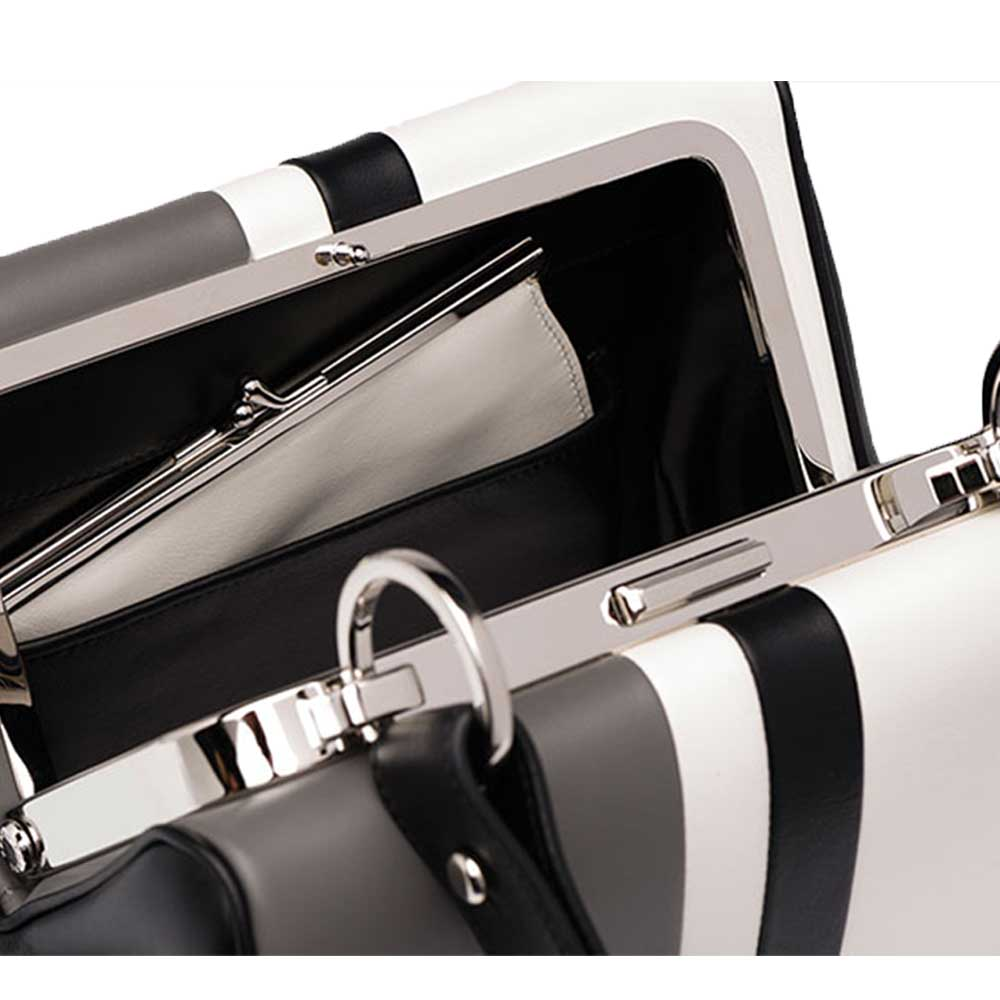 Prada Frame Bag Çanta Beyaz - 9 #Prada #PradaFrameBag #Çanta - 4
