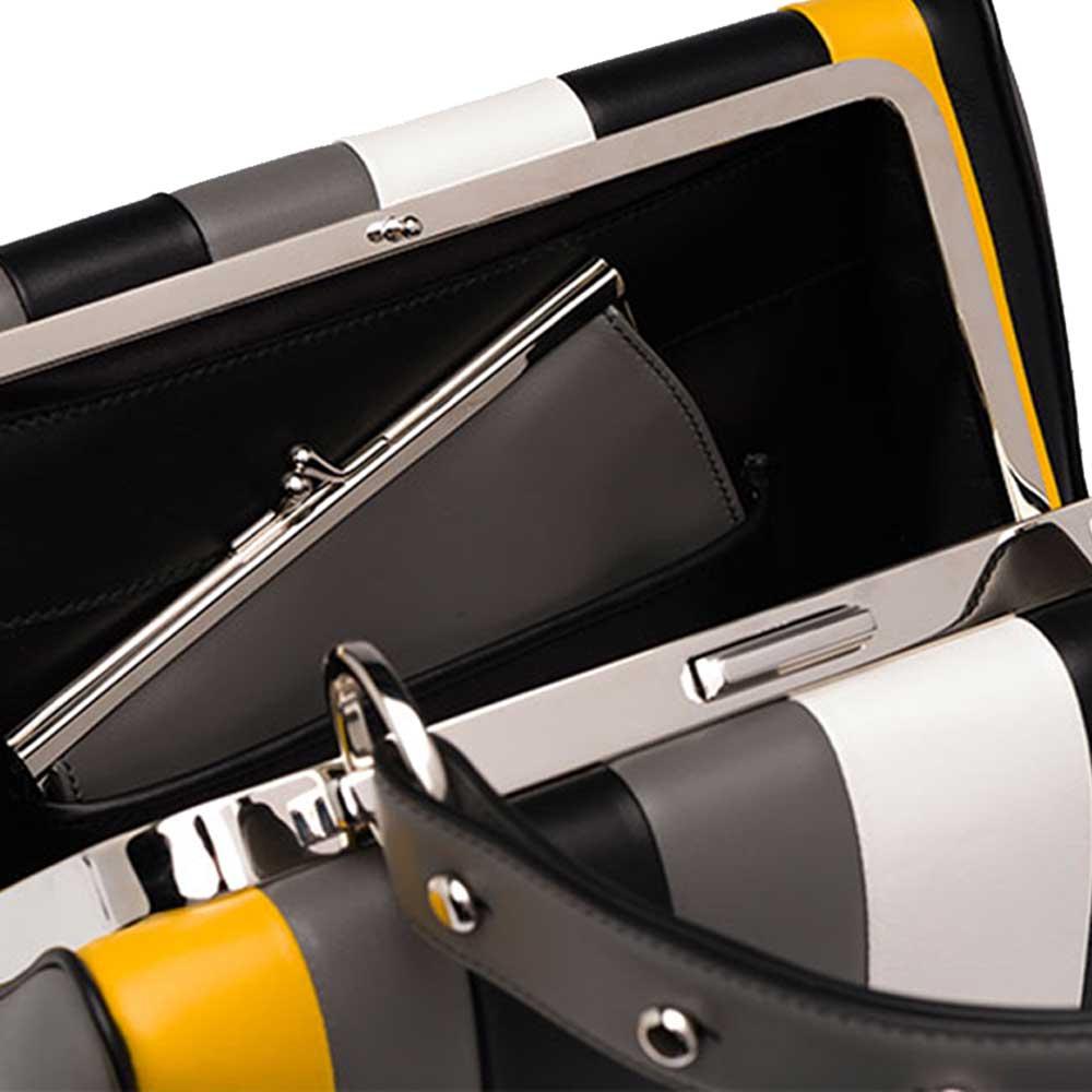 Prada Frame Bag Çanta Sarı - 7 #Prada #PradaFrameBag #Çanta - 4