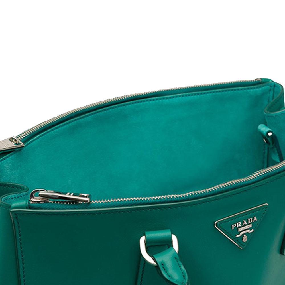 Prada Galleria Bag Çanta Yeşil - 17 #Prada #PradaGalleriaBag #Çanta - 4