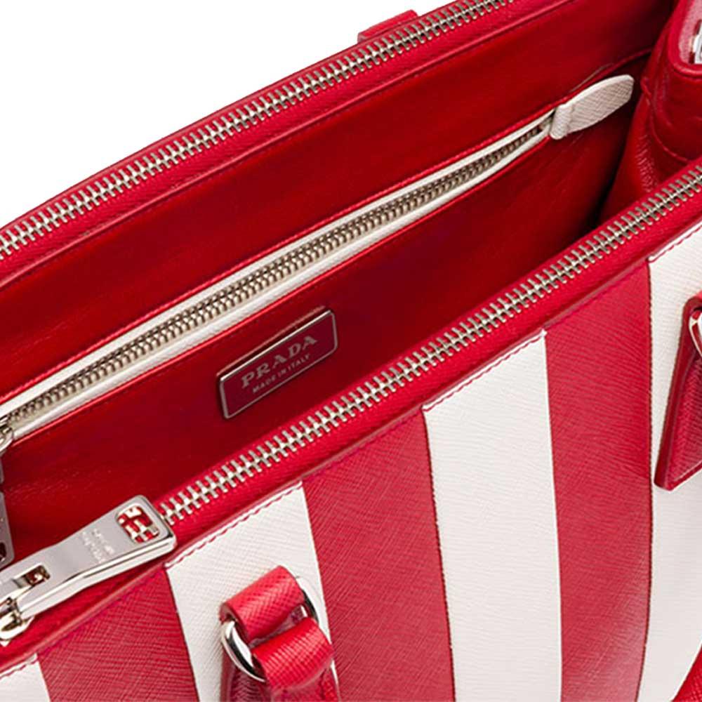 Prada Galleria Bag Çanta Kırmızı - 10 #Prada #PradaGalleriaBag #Çanta - 4