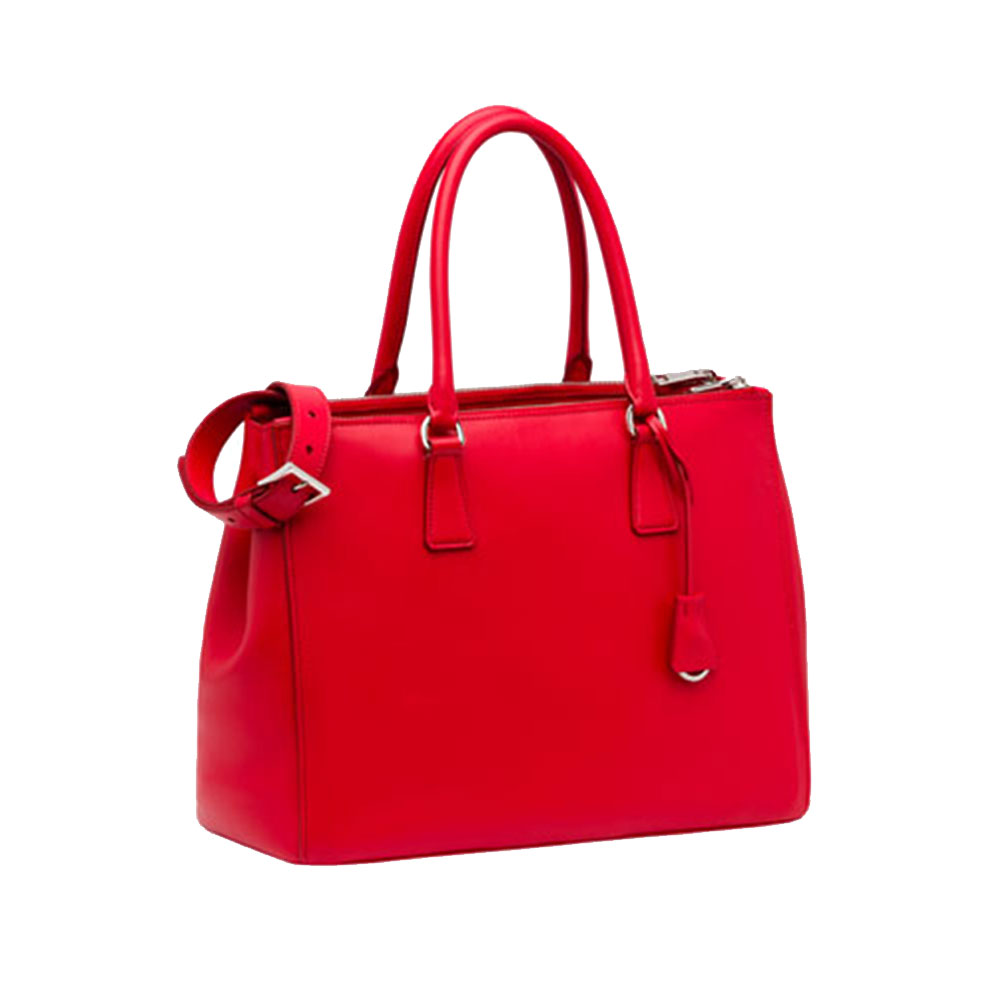 Prada Galleria Bag Çanta Kırmızı - 15 #Prada #PradaGalleriaBag #Çanta - 4