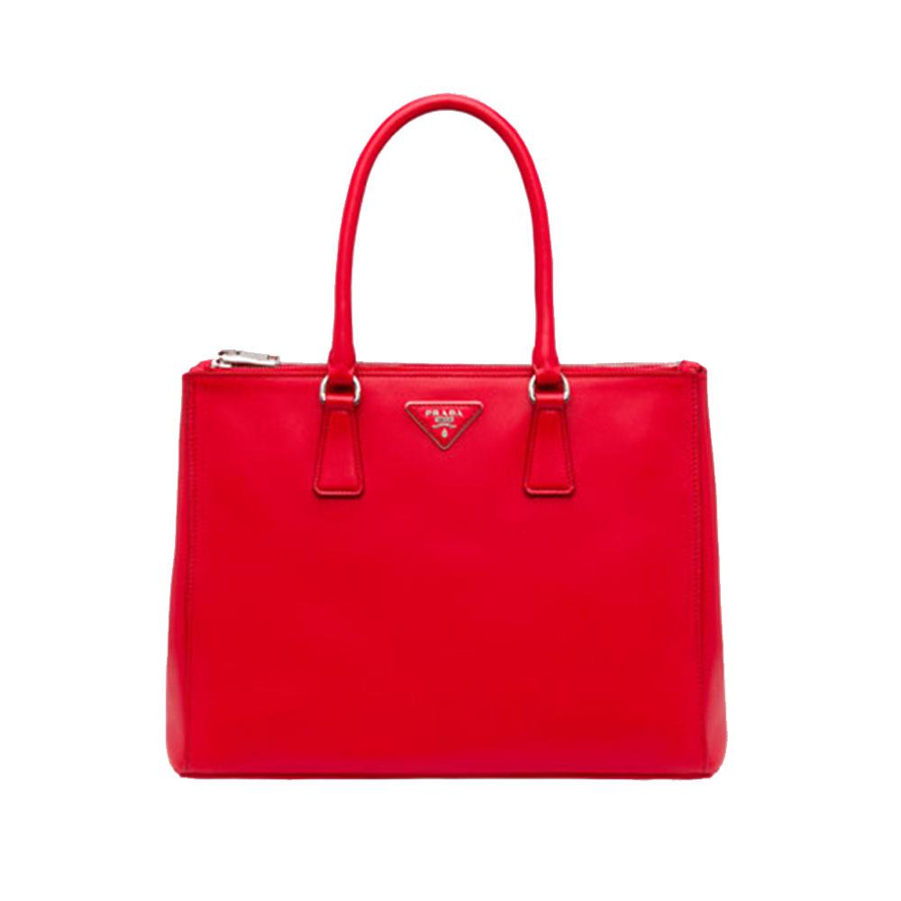 Prada Galleria Bag Çanta Kırmızı - 15 #Prada #PradaGalleriaBag #Çanta
