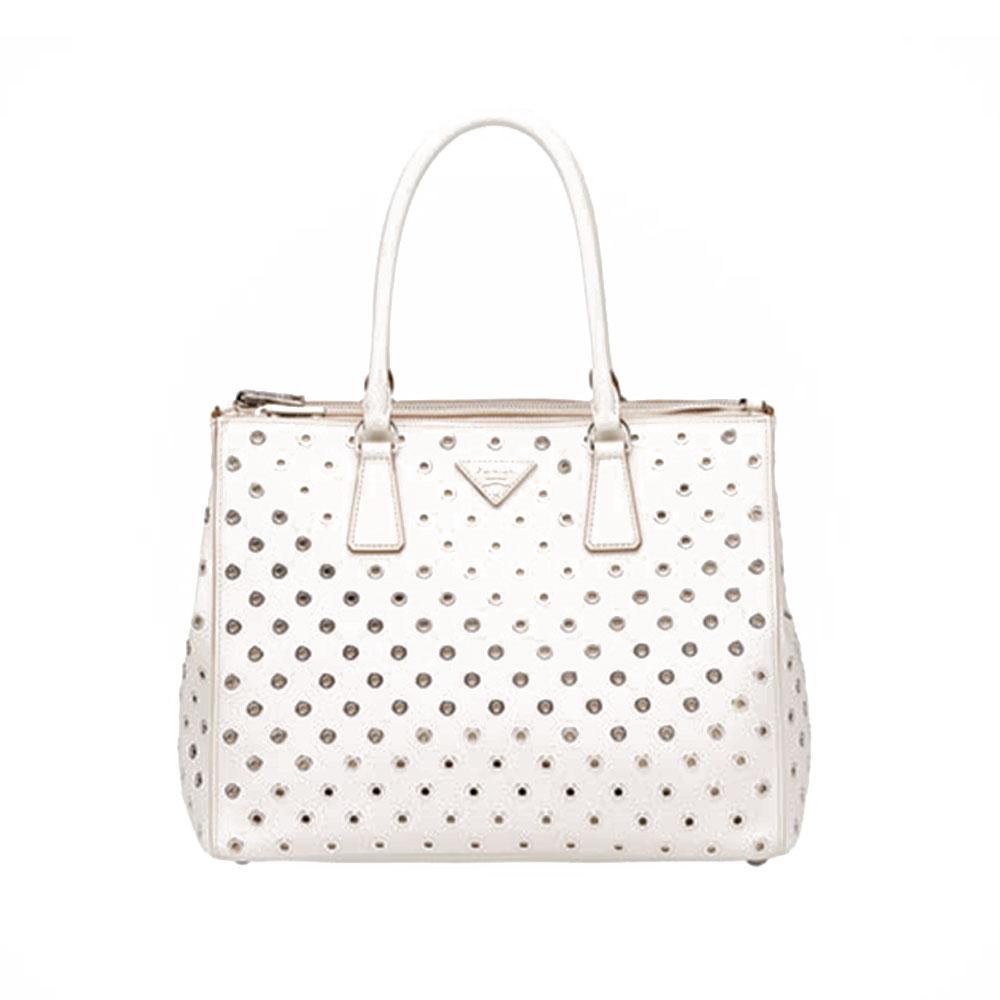 Prada Galleria Bag Çanta Beyaz - 12 #Prada #PradaGalleriaBag #Çanta