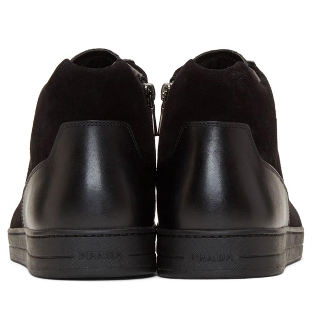 Prada Suede Ayakkabı Siyah - 6 #Prada #PradaSuede #Ayakkabı - 4