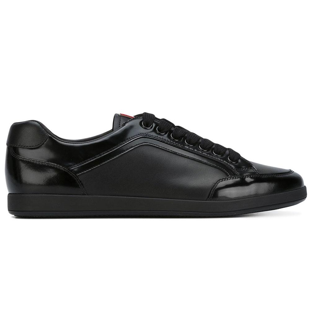Prada Panelled Ayakkabı Siyah - 7 #Prada #PradaPanelled #Ayakkabı