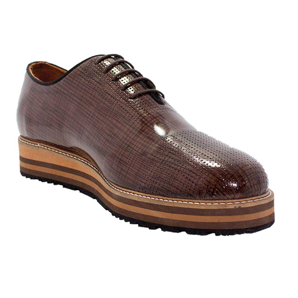 Prada Ayakkabı Kahverengi - 4 #   Maslak Outlet #Prada #Ayakkabı