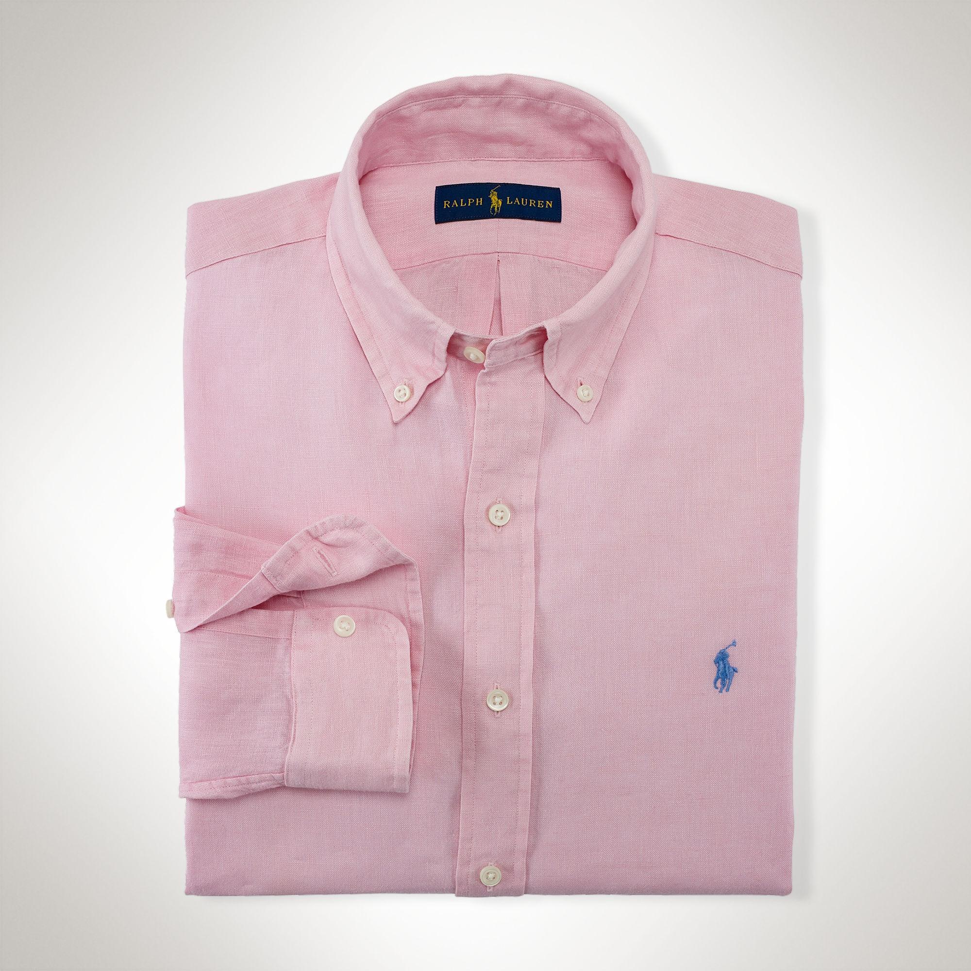Ralph Lauren Gömlek Foster Pink - 1 #   Maslak Outlet #RalphLauren #Gömlek
