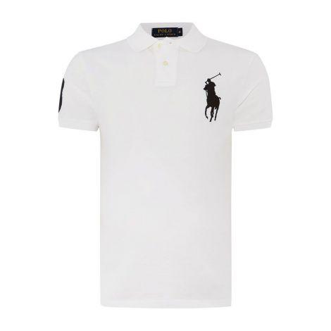 Ralph Lauren Tişört Polo White Black #RalphLauren #Tişört #RalphLaurenTişört #Erkek #RalphLaurenPolo #Polo