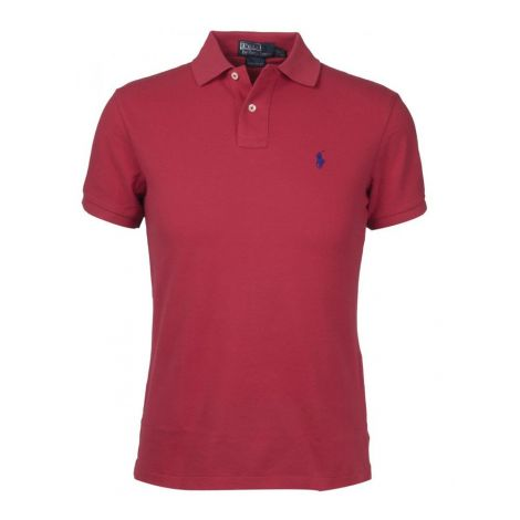 Ralph Lauren Tişört Polo Red - Polo T Shirt Ralph Lauren Claret Red