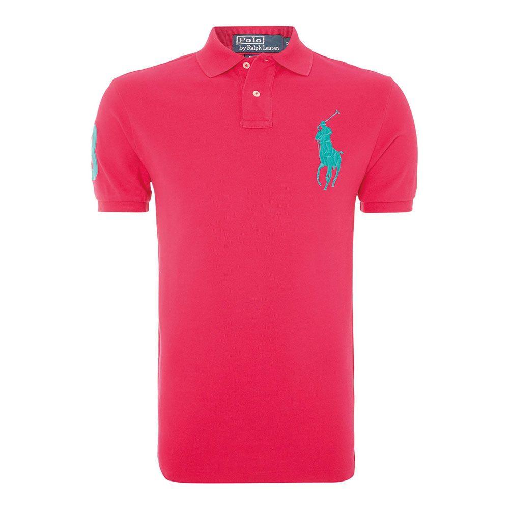 Ralph Lauren Polo Tişört Pink - 13 #Ralph Lauren #RalphLaurenPolo #Tişört