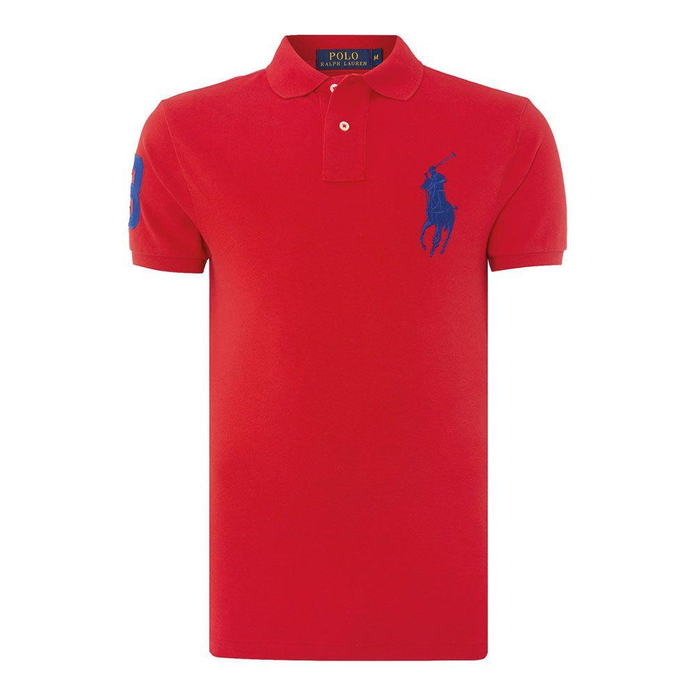 Ralph Lauren Polo Tişört Red - 19 #Ralph Lauren #RalphLaurenPolo #Tişört