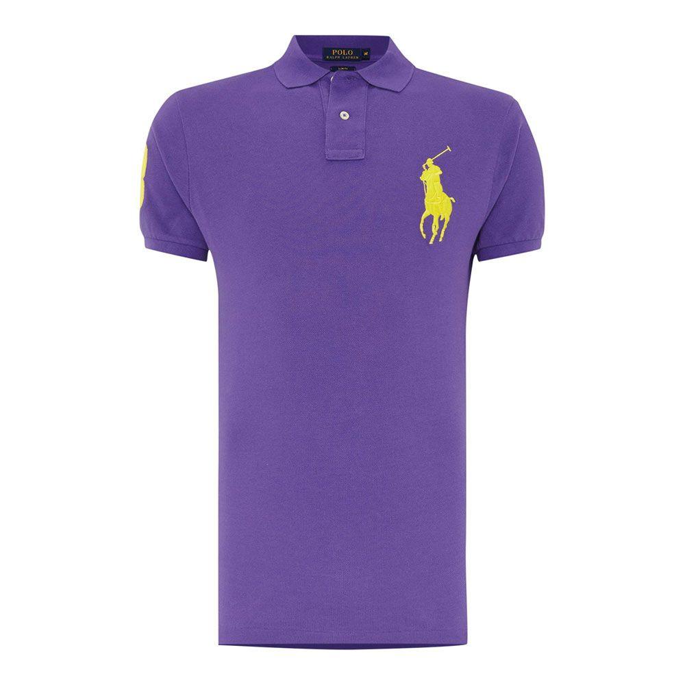 Ralph Lauren Polo Tişört Purple - 22 #Ralph Lauren #RalphLaurenPolo #Tişört