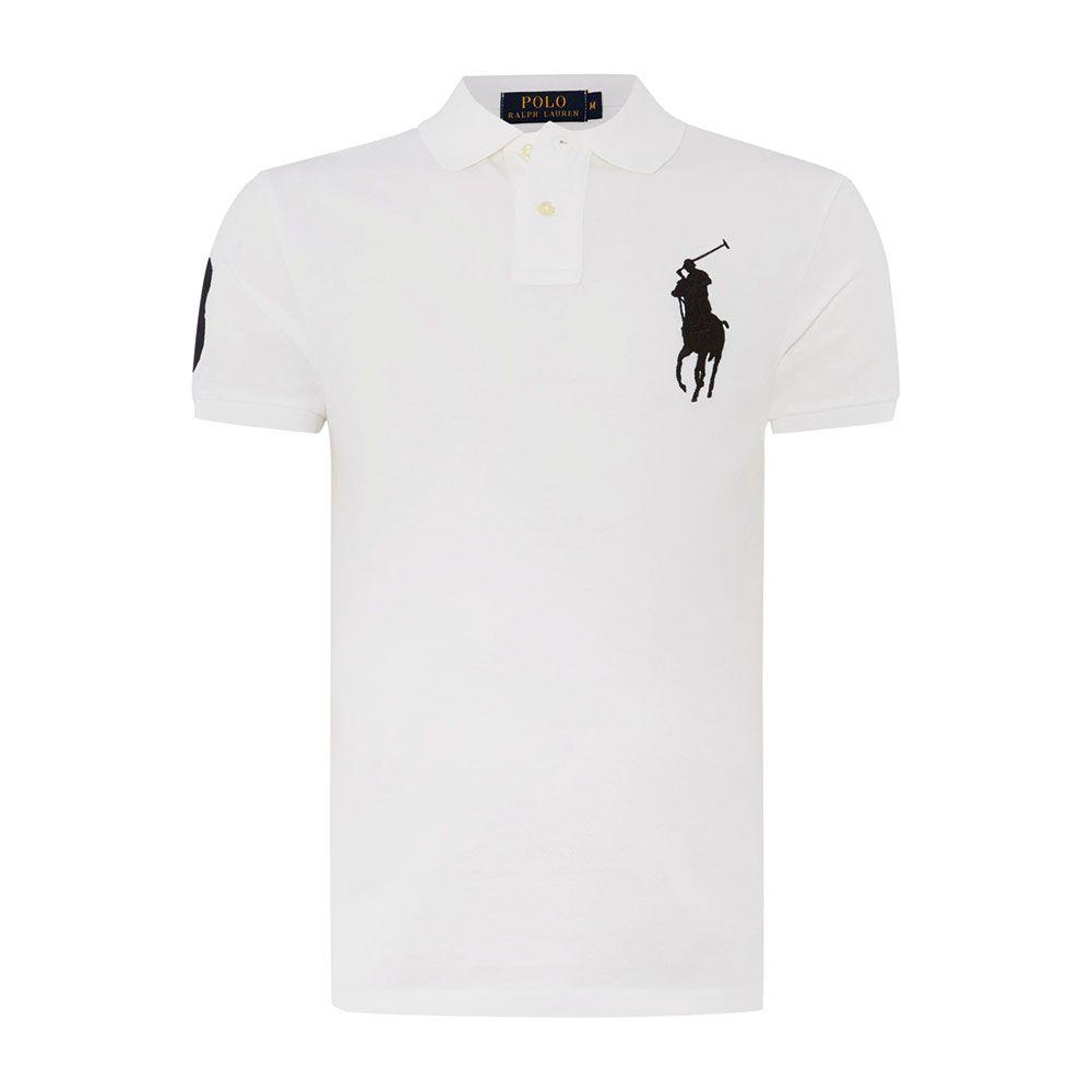 Ralph Lauren Polo Tişört White Black - 24 #Ralph Lauren #RalphLaurenPolo #Tişört