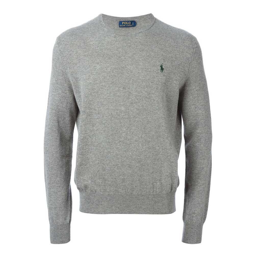 Ralph Lauren Polo Sweatshirt Gri - 34 # | Maslak Outlet #RalphLaurenPolo #Sweatshirt
