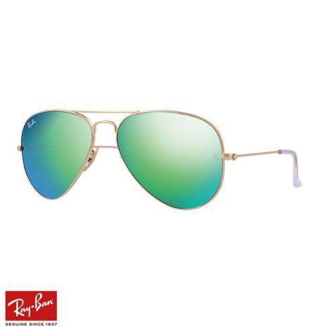 RayBan Gözlük Aviator Flash Yeşil Altın #RayBan #Gözlük #RayBanGözlük #Unisex #RayBanAviator Flash #Aviator Flash