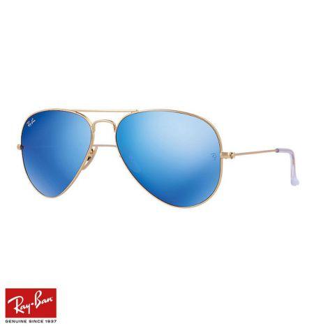 RayBan Gözlük Aviator Flash Mavi Altın #RayBan #Gözlük #RayBanGözlük #Unisex #RayBanAviator Flash #Aviator Flash