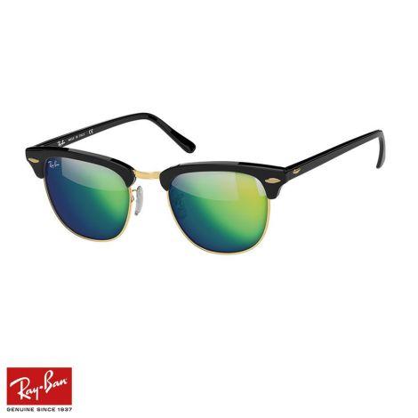 RayBan Gözlük Clubmaster Flash Yeşil Siyah #RayBan #Gözlük #RayBanGözlük #Unisex #RayBanClubmaster Flash #Clubmaster Flash