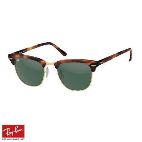 RayBan Gözlük Clubmaster Classic Yeşil Tortoise #RayBan #Gözlük #RayBanGözlük #Unisex #RayBanClubmaster Classic #Clubmaster Classic