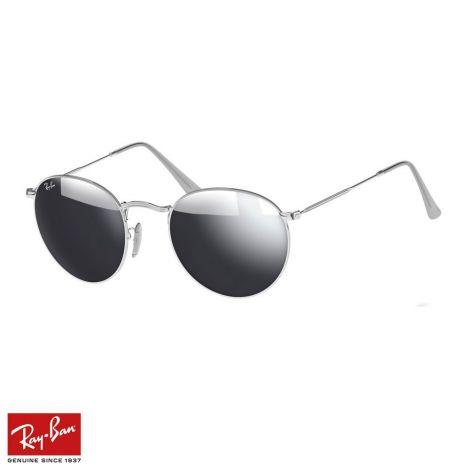RayBan Gözlük Round Flash Gümüş #RayBan #Gözlük #RayBanGözlük #Unisex #RayBanRound Flash #Round Flash