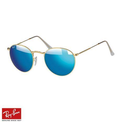 RayBan Gözlük Round Metal Mavi Altın #RayBan #Gözlük #RayBanGözlük #Unisex #RayBanRound Metal #Round Metal