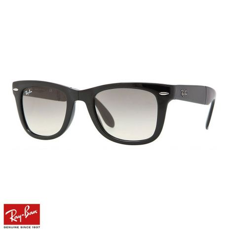 RayBan Gözlük Wayfarer Folding Açık Gri Siyah #RayBan #Gözlük #RayBanGözlük #Unisex #RayBanWayfarer Folding #Wayfarer Folding