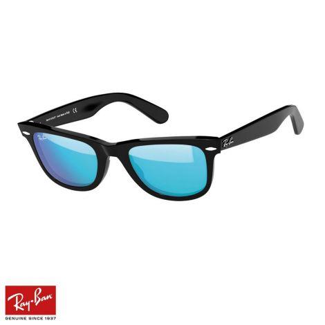 RayBan Gözlük Wayfarer Flash Mavi Siyah #RayBan #Gözlük #RayBanGözlük #Unisex #RayBanWayfarer Flash #Wayfarer Flash