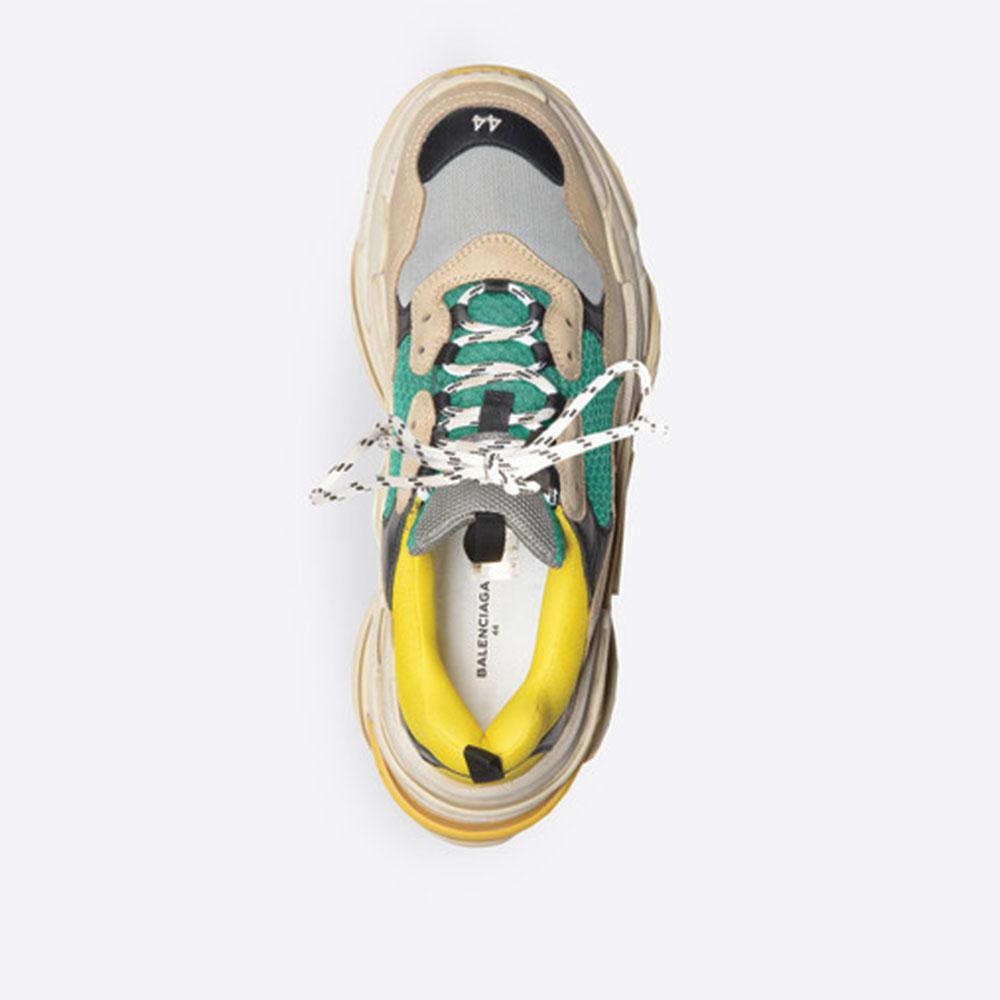Balenciaga Triple S Trainer Ayakkabı Sarı - 25 #Balenciaga #BalenciagaTripleSTrainer #Ayakkabı - 4