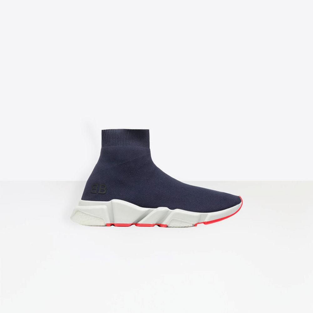 Balenciaga Speed Trainers Ayakkabı Mavi - 29 #Balenciaga #BalenciagaSpeedTrainers #Ayakkabı