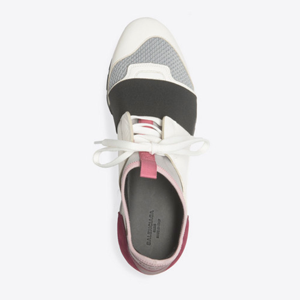 Balenciaga Race Runner Ayakkabı Beyaz - 101 #Balenciaga #BalenciagaRaceRunner #Ayakkabı - 4