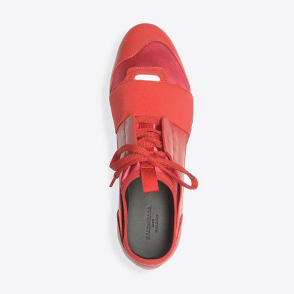 Balenciaga Race Runner Ayakkabı Kırmızı - 107 #Balenciaga #BalenciagaRaceRunner #Ayakkabı - 4