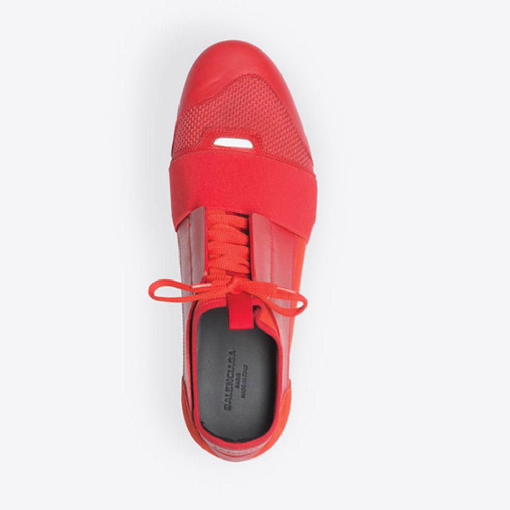 Balenciaga Race Runner Ayakkabı Kırmızı - 20 #Balenciaga #BalenciagaRaceRunner #Ayakkabı - 4