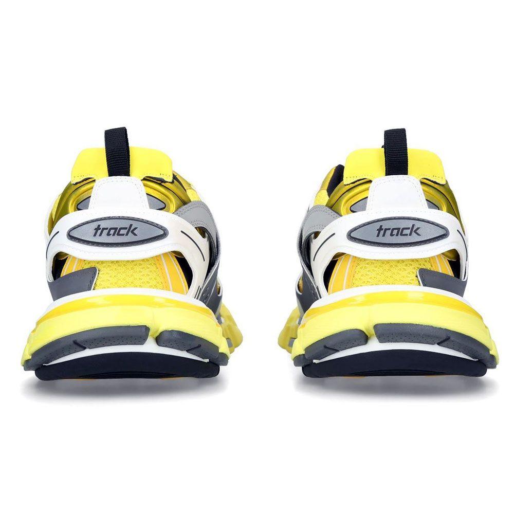 Updated Balenciaga Track Shoe White And Orange Very Nice