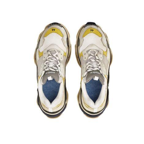 Balenciaga Ayakkabı Triple S Trainer Sarı #Balenciaga #Ayakkabı #BalenciagaAyakkabı #Erkek #BalenciagaTriple S Trainer #Triple S Trainer