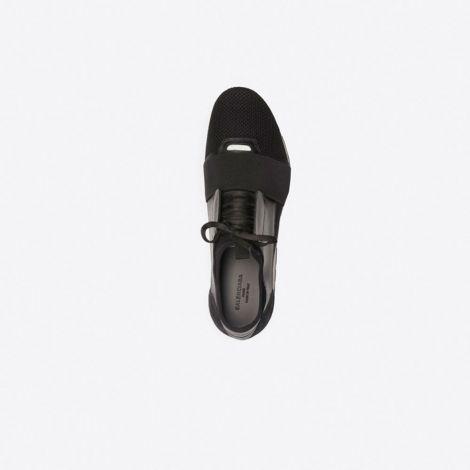 Balenciaga Ayakkabı Race Runner Siyah - Balenciaga Race Runner Shoes Ayakkabi Siyah