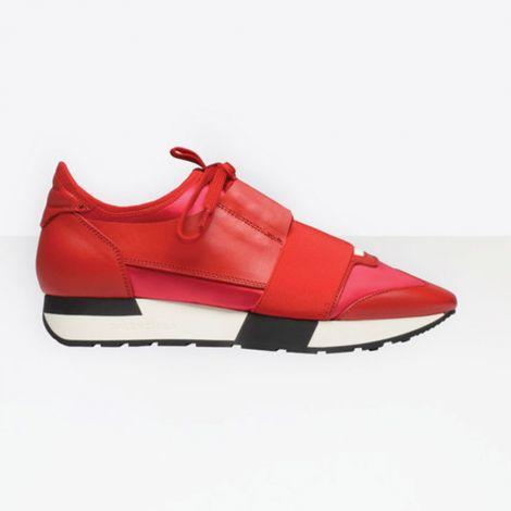 Balenciaga Ayakkabı Race Runner Kırmızı #Balenciaga #Ayakkabı #BalenciagaAyakkabı #Kadın #BalenciagaRace Runner #Race Runner