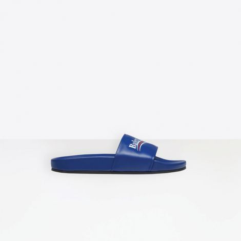 Balenciaga Terlik Pool Mavi #Balenciaga #Terlik #BalenciagaTerlik #Kadın #BalenciagaPool #Pool