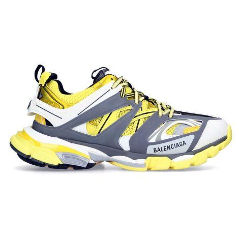 Balenciaga Sneakers Track Sarı - Balenciaga Track Sneakers Ayakkabi 2019 Gri Sari