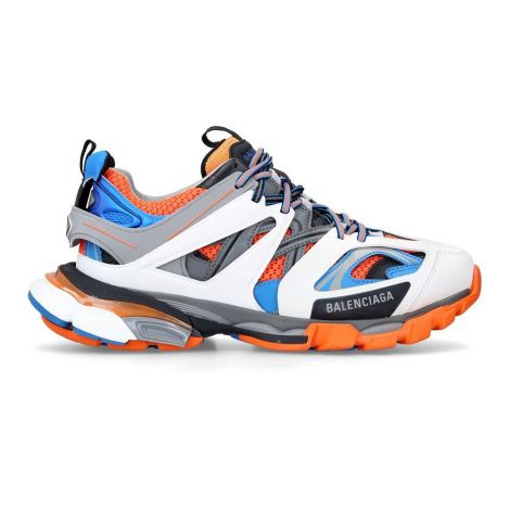 Balenciaga Sneakers Track Turuncu - Balenciaga Track Sneakers Ayakkabi 2019 Siyah Beyaz Gri Renkli Turuncu
