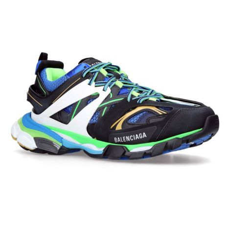 Balenciaga Sneakers Track Mavi #Balenciaga #Ayakkabı #BalenciagaAyakkabı #Erkek #BalenciagaTrack #Track