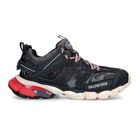 Balenciaga Sneakers Track Kırmızı - Balenciaga Track Sneakers Ayakkabi 2019 Siyah Kirmizi