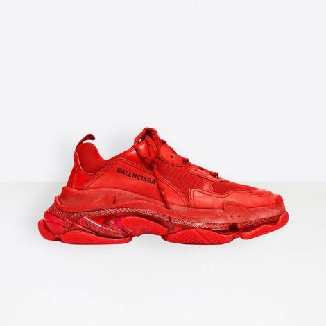 Balenciaga Ayakkabı Triple S Kırmızı #Balenciaga #Ayakkabı #BalenciagaAyakkabı #Erkek #BalenciagaTriple S #TripleS Balenciaga Triple S Clear Sole Red Ayakkabi 2020 Kirmizi