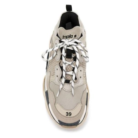 Balenciaga Ayakkabı Triple S Bej #Balenciaga #Ayakkabı #BalenciagaAyakkabı #Erkek #BalenciagaTriple S #TripleS Balenciaga Triple S Sneakers Erkek Mavi Siyah Gri Krem Bej