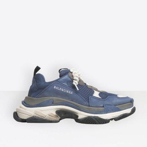 Balenciaga Ayakkabı Triple S Mavi #Balenciaga #Ayakkabı #BalenciagaAyakkabı #Erkek #BalenciagaTriple S #Triple S