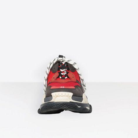 Balenciaga Ayakkabı Triple S Kırmızı #Balenciaga #Ayakkabı #BalenciagaAyakkabı #Erkek #BalenciagaTriple S #TripleS Balenciaga Triple S Trainers Ayakkabi Erkek Siyah Kirmizi